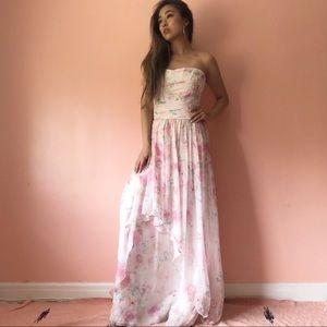 Plum Pretty Sugar Floral Dress